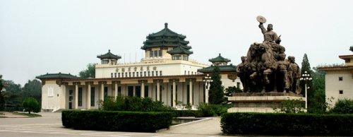 北京全国农业展览馆-首都著名的十大建筑之一